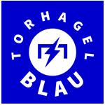Torhagelblau